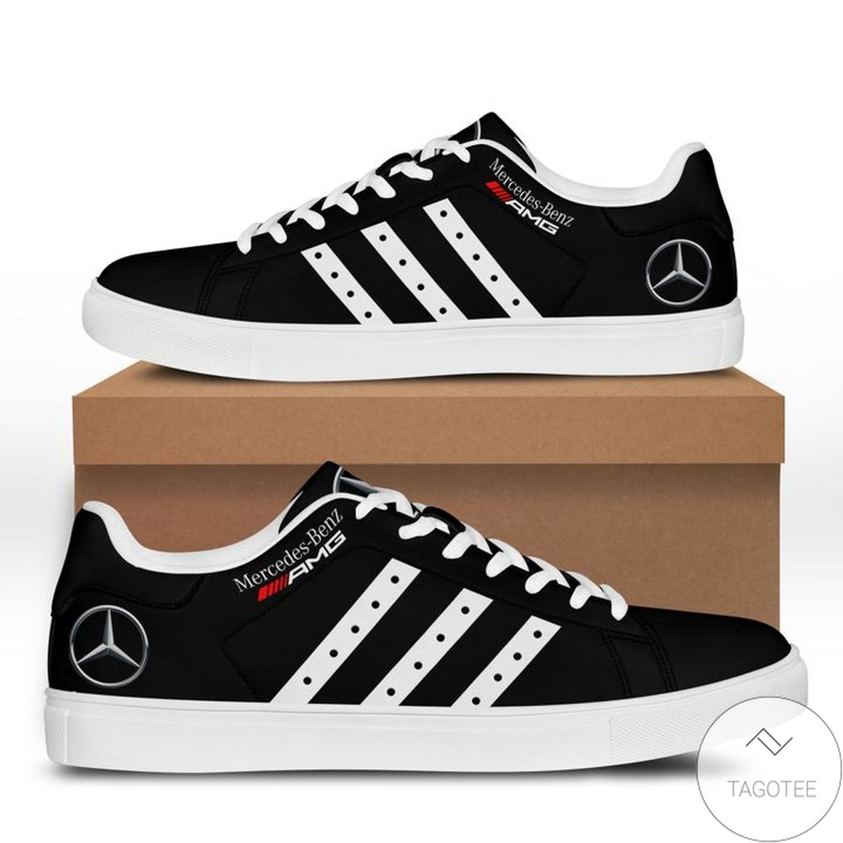 Free Mercedes Amg Black Stan Smith Shoes