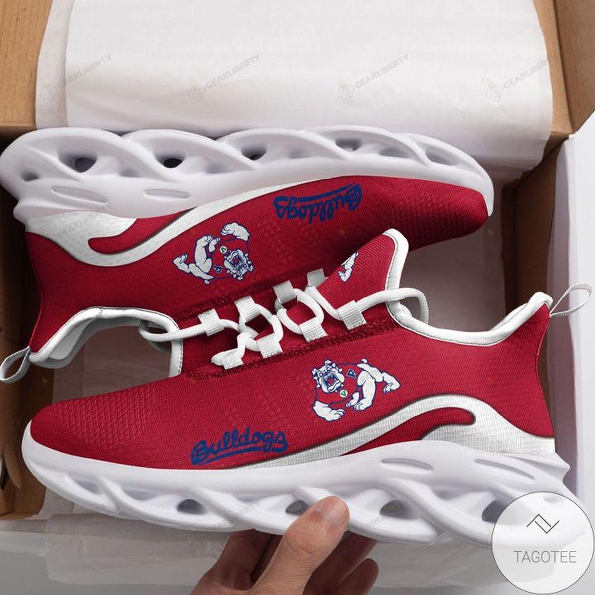 NCAA Fresno State Bulldogs Max Soul Shoes