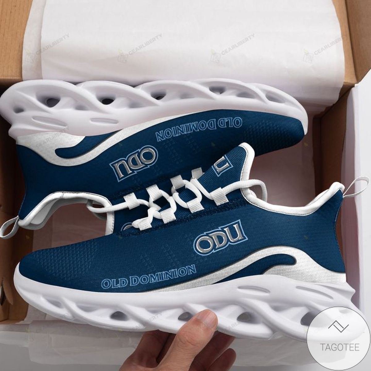 NCAA Old Dominion Monarchs Max Soul Shoes