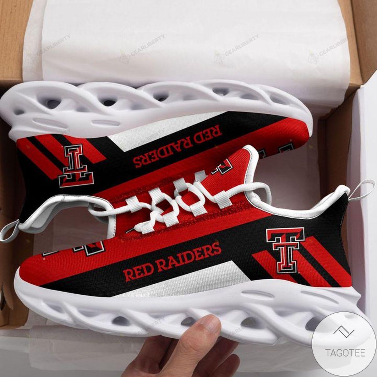 NCAA Texas Tech Red Raiders Max Soul Shoes