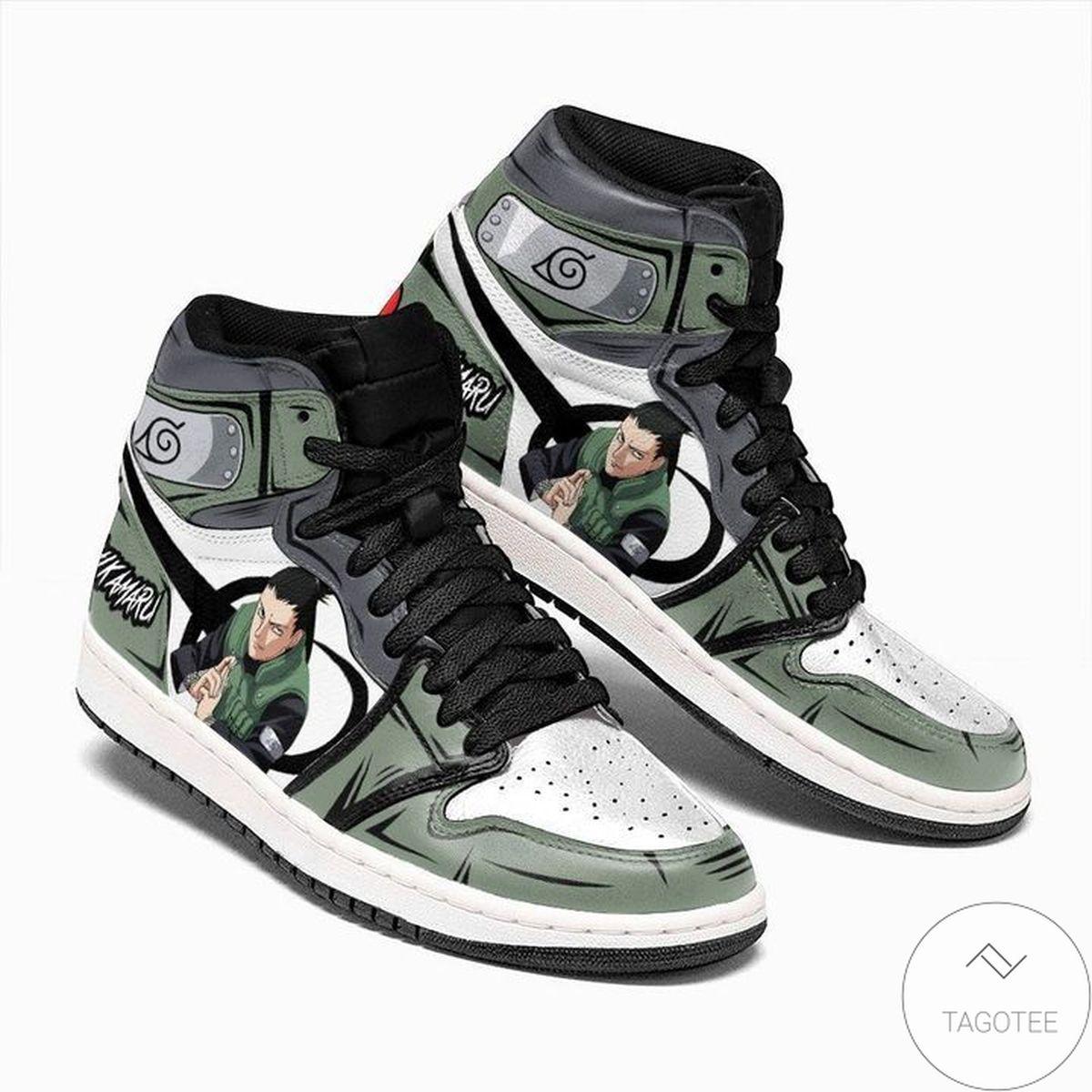 Unique Nara Shikamaru Sneaker Air Jordan High Top Shoes