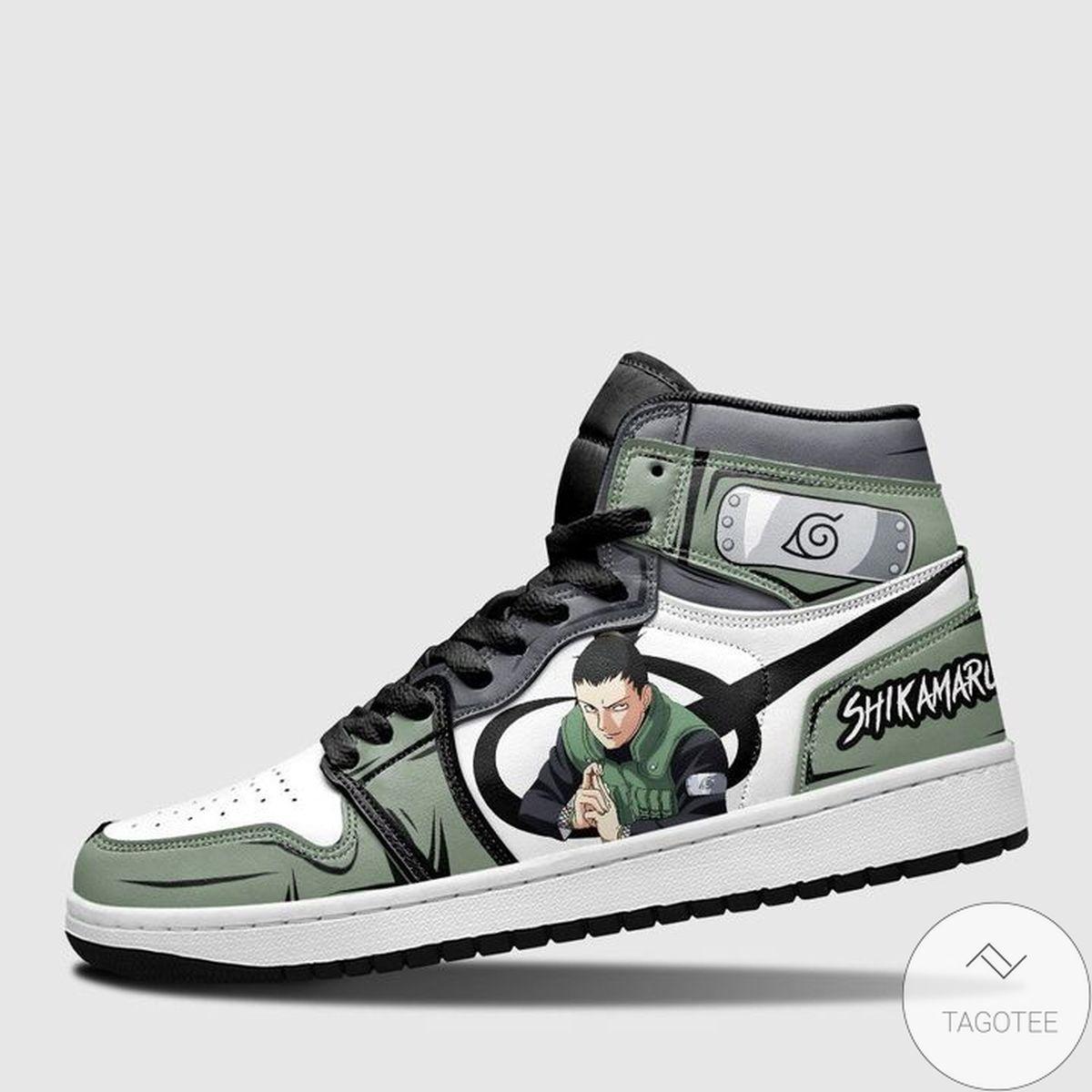 Hot Deal Nara Shikamaru Sneaker Air Jordan High Top Shoes