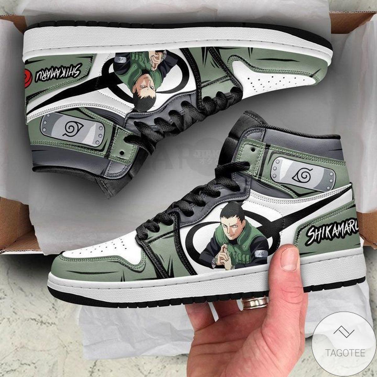 Ships From USA Nara Shikamaru Sneaker Air Jordan High Top Shoes