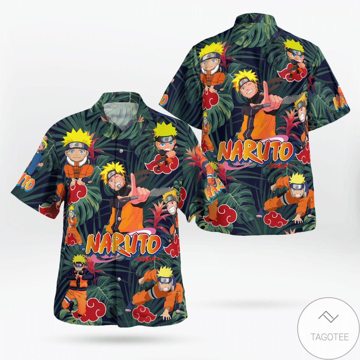 Adult Naruto Tropical Hawaiian Shirt