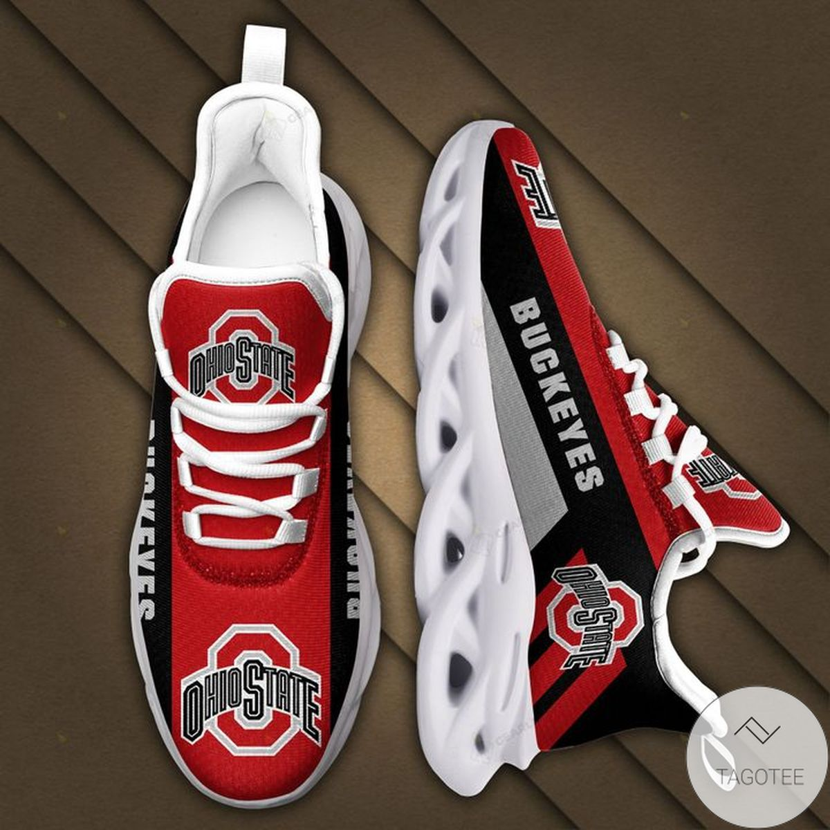Ohio State Buckeyes Max Soul Shoes