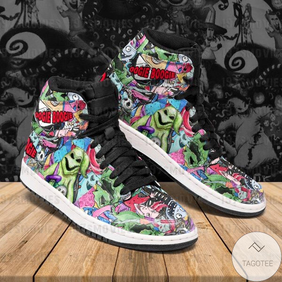 Oogie Boogie Sneaker Air Jordan High Top Shoes