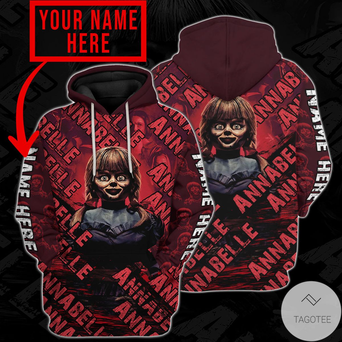 Amazon Personalized Annabelle Hoodie