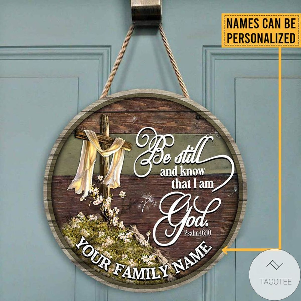 Best Shop Personalized Be Still And Know That I Am God Wood Sign