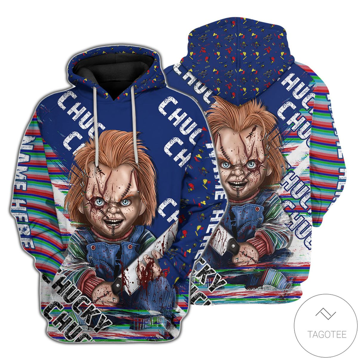 Best Gift Personalized Child's Play Chucky Hoodie