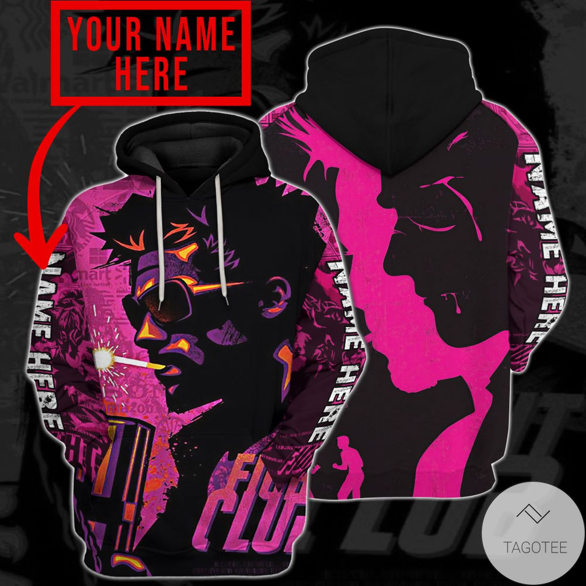 Very Good Quality Personalized Fight Club Movie Hoodie