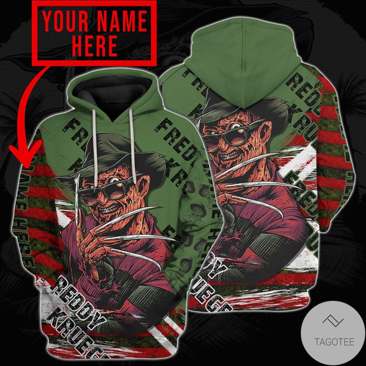 Vibrant Personalized Freddy Krueger A Nightmare On Elm Street Hoodie