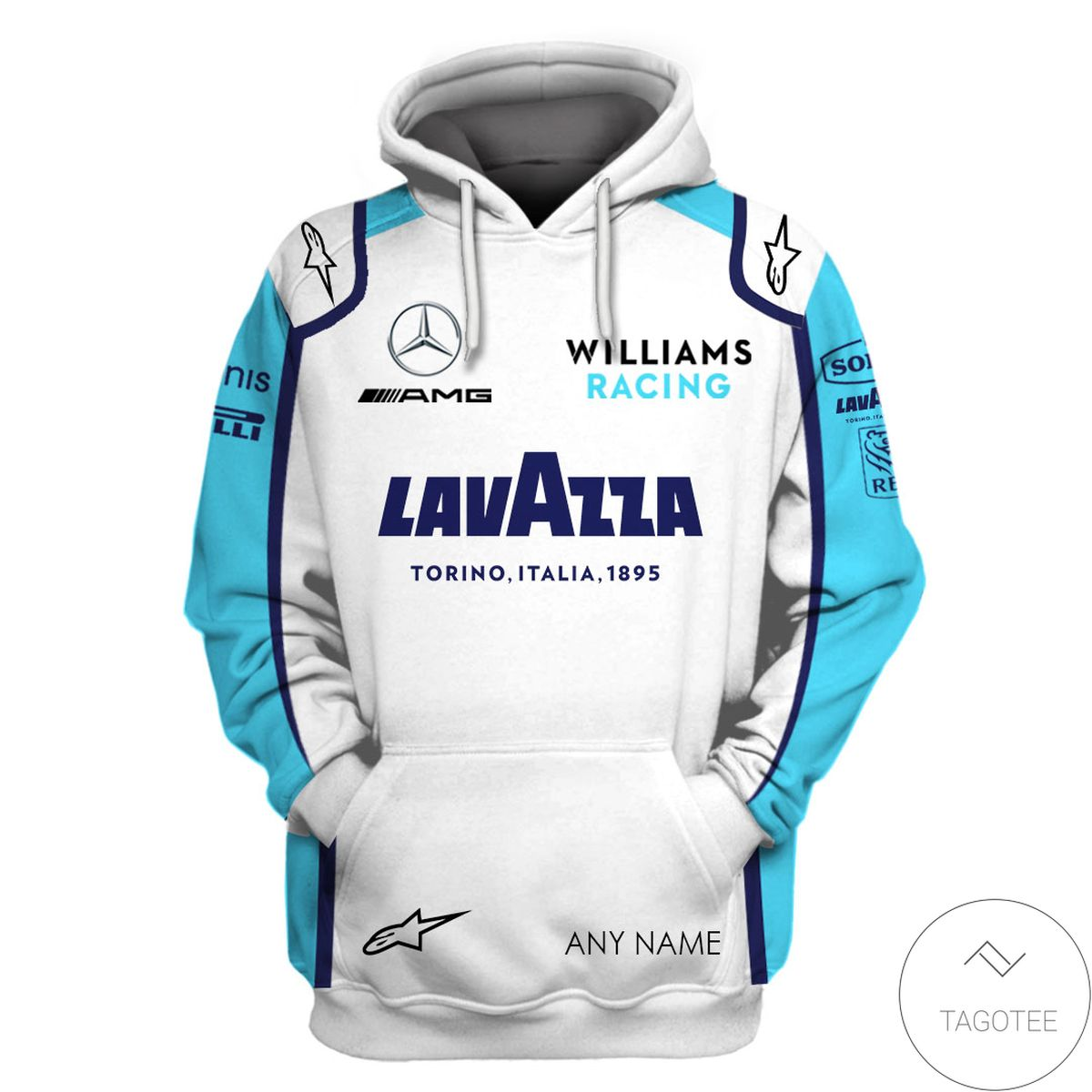 Personalized George Russell Formula One Hoodie z