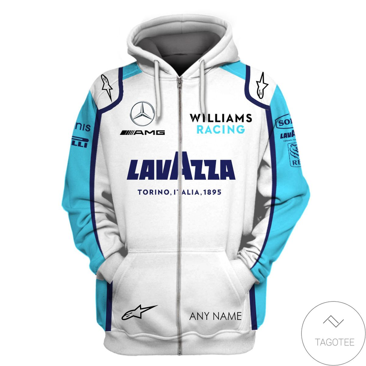 Beautiful Personalized George Russell Formula One Hoodie