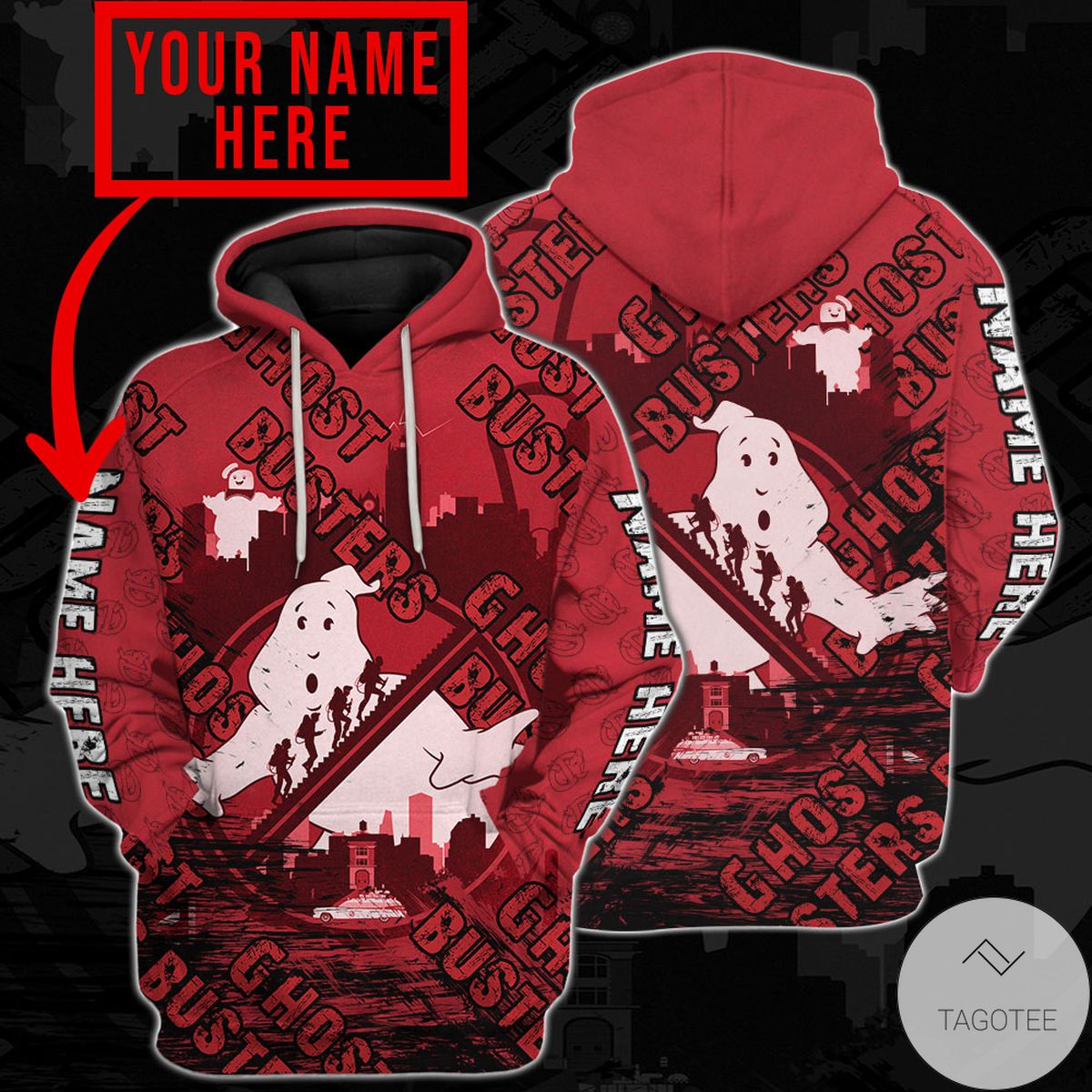 Where To Buy Personalized Ghostbusters Hoodie