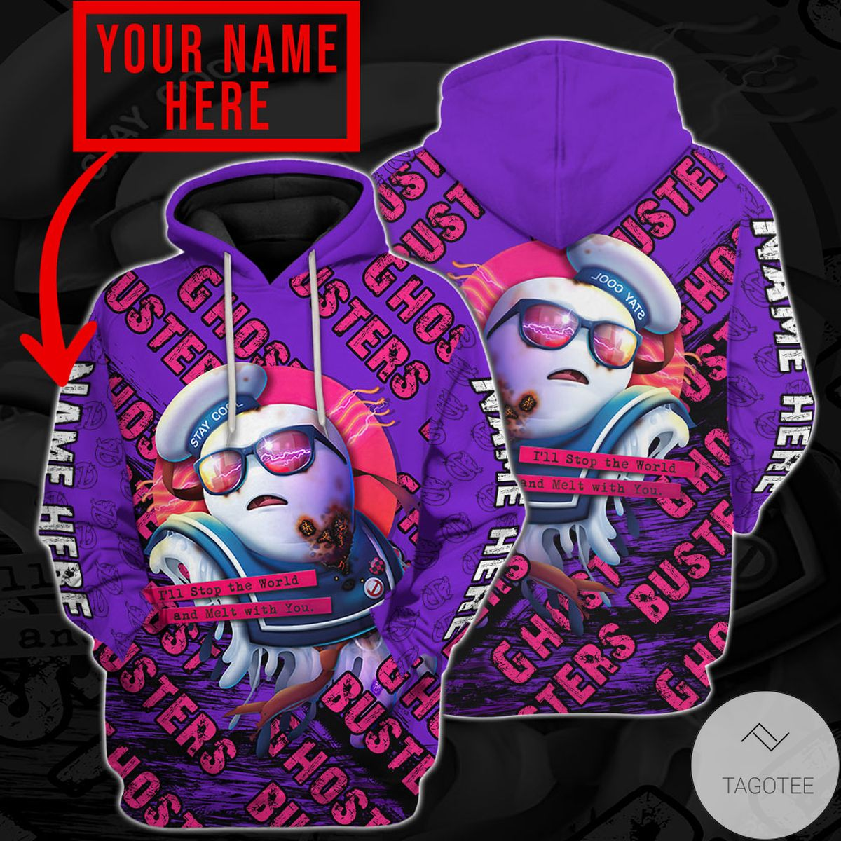 Mother's Day Gift Personalized Ghostbusters Sailor Hoodie