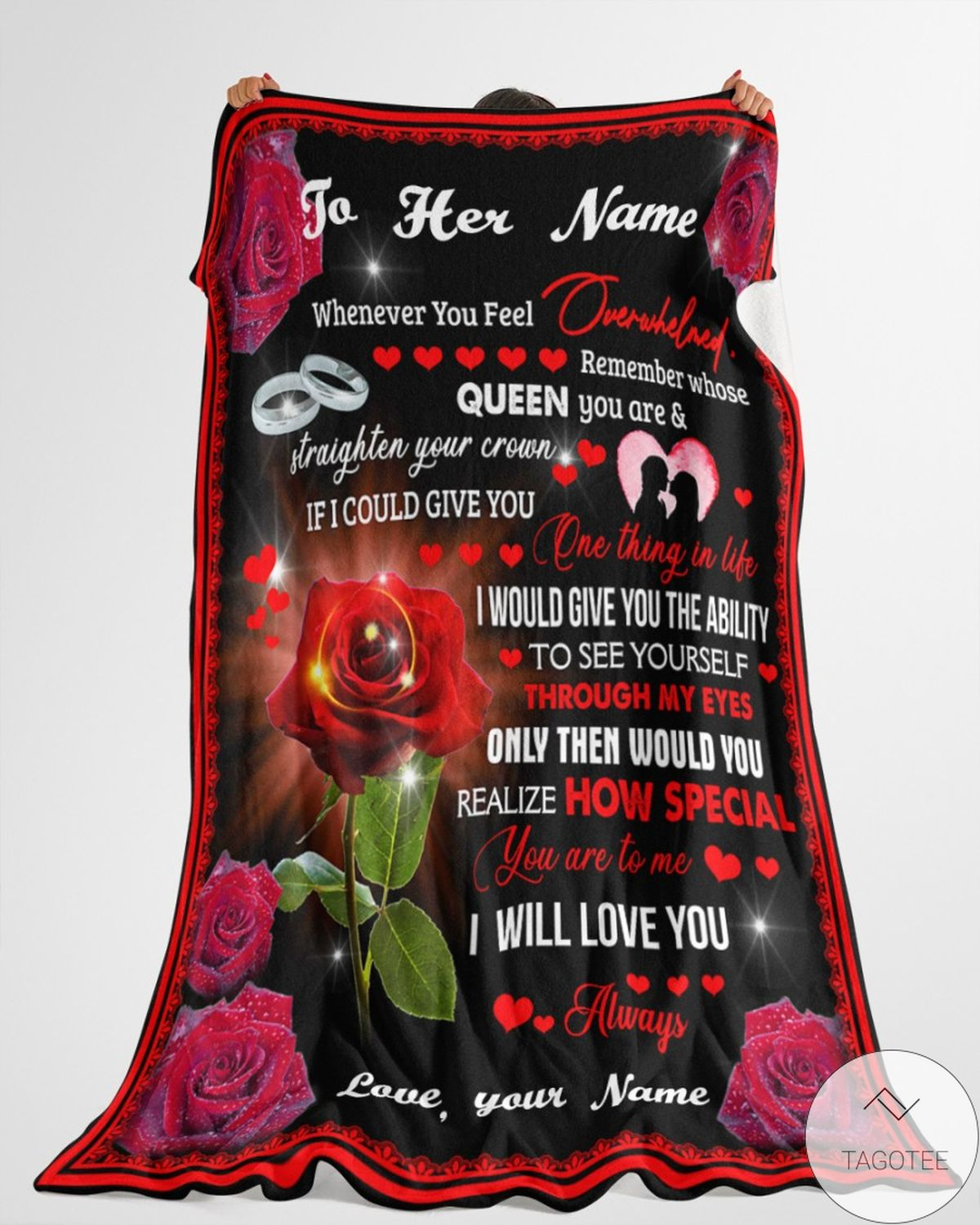 Unisex Personalized How Special You Are To Me Best Gift For Girlfriend Blanket