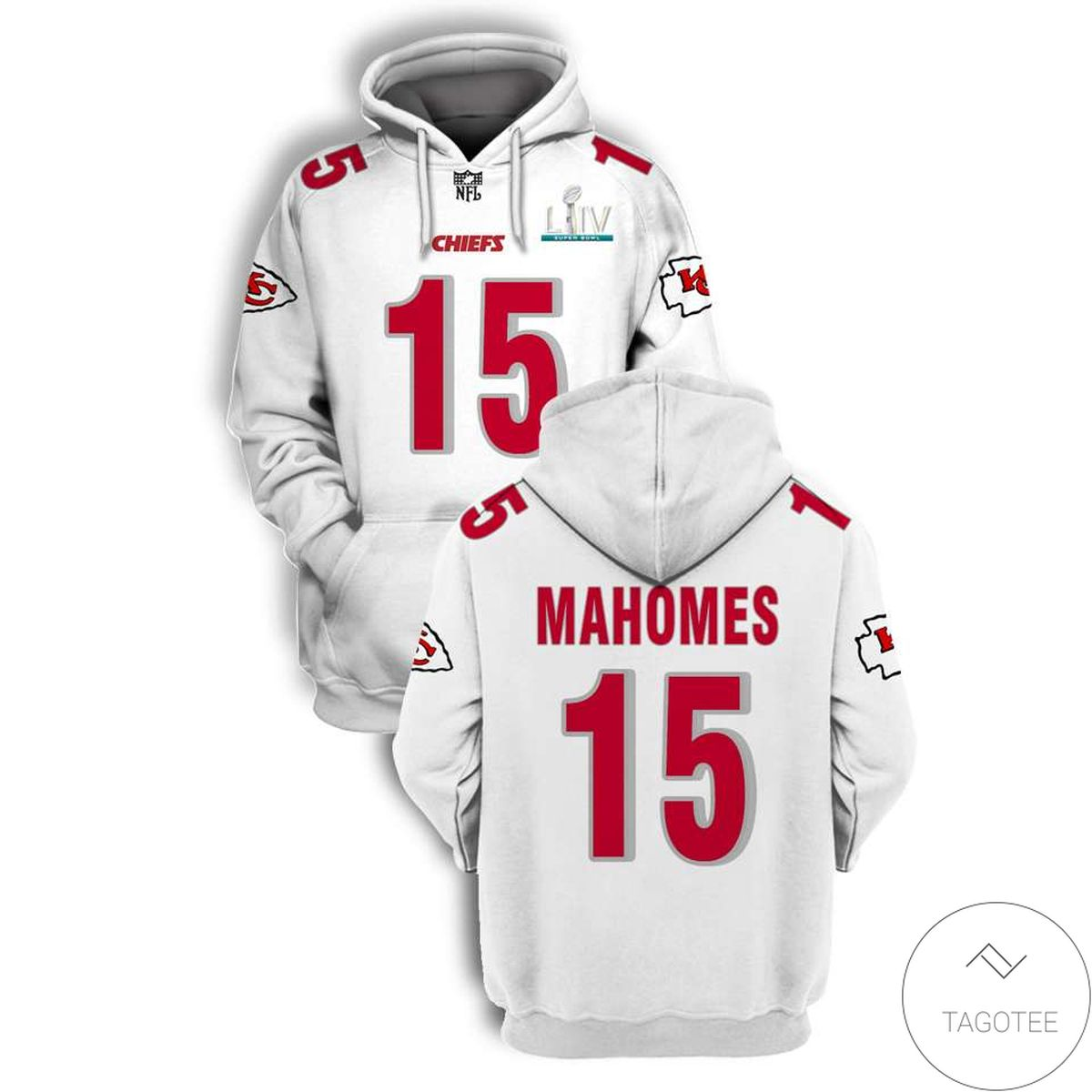 Excellent Personalized Name And Number Kansas City Chiefs 3D All Over Print Hoodie
