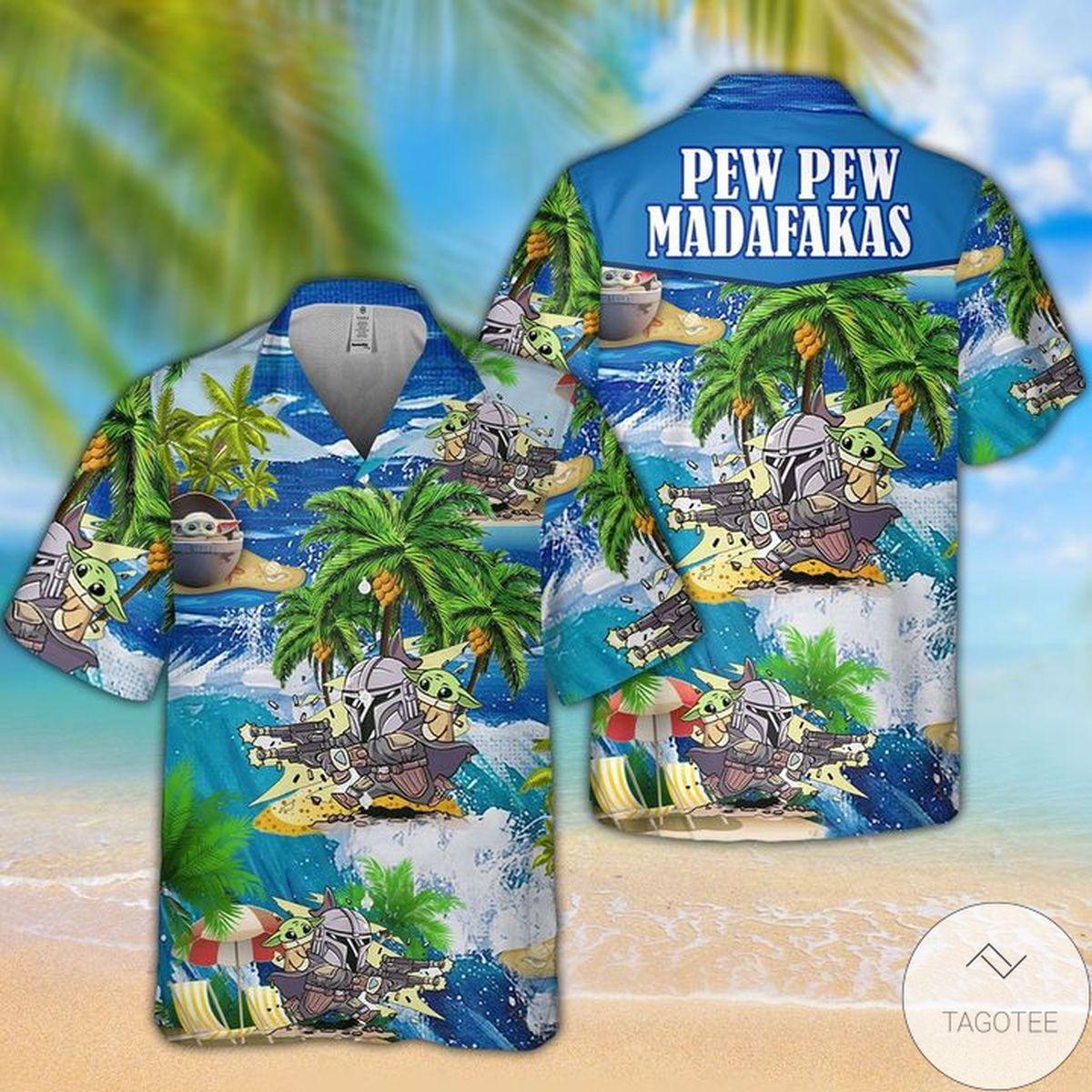 Amazing Pew Pew Madafakas Hawaii Shirt
