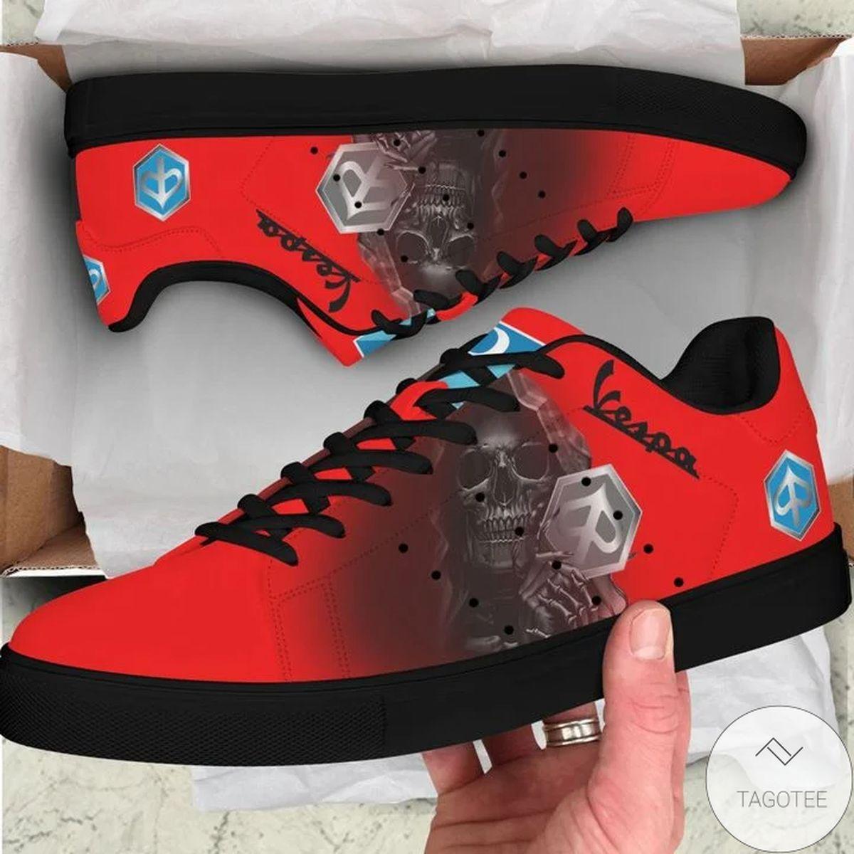 Piaggio Vespa Skull Stan Smith Shoes