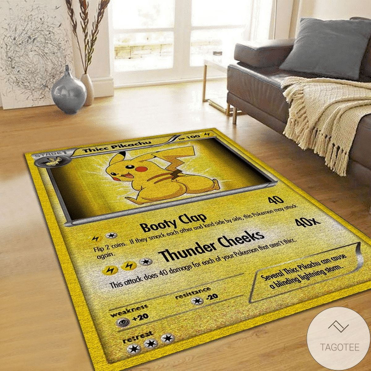 Pokemon Pikachu Rug