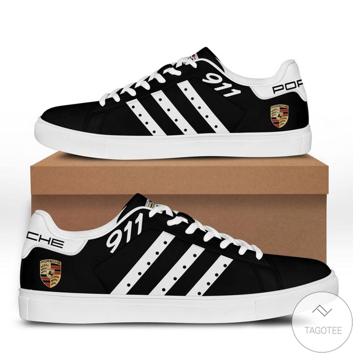 Gorgeous Porsche All Black Stan Smith Shoes