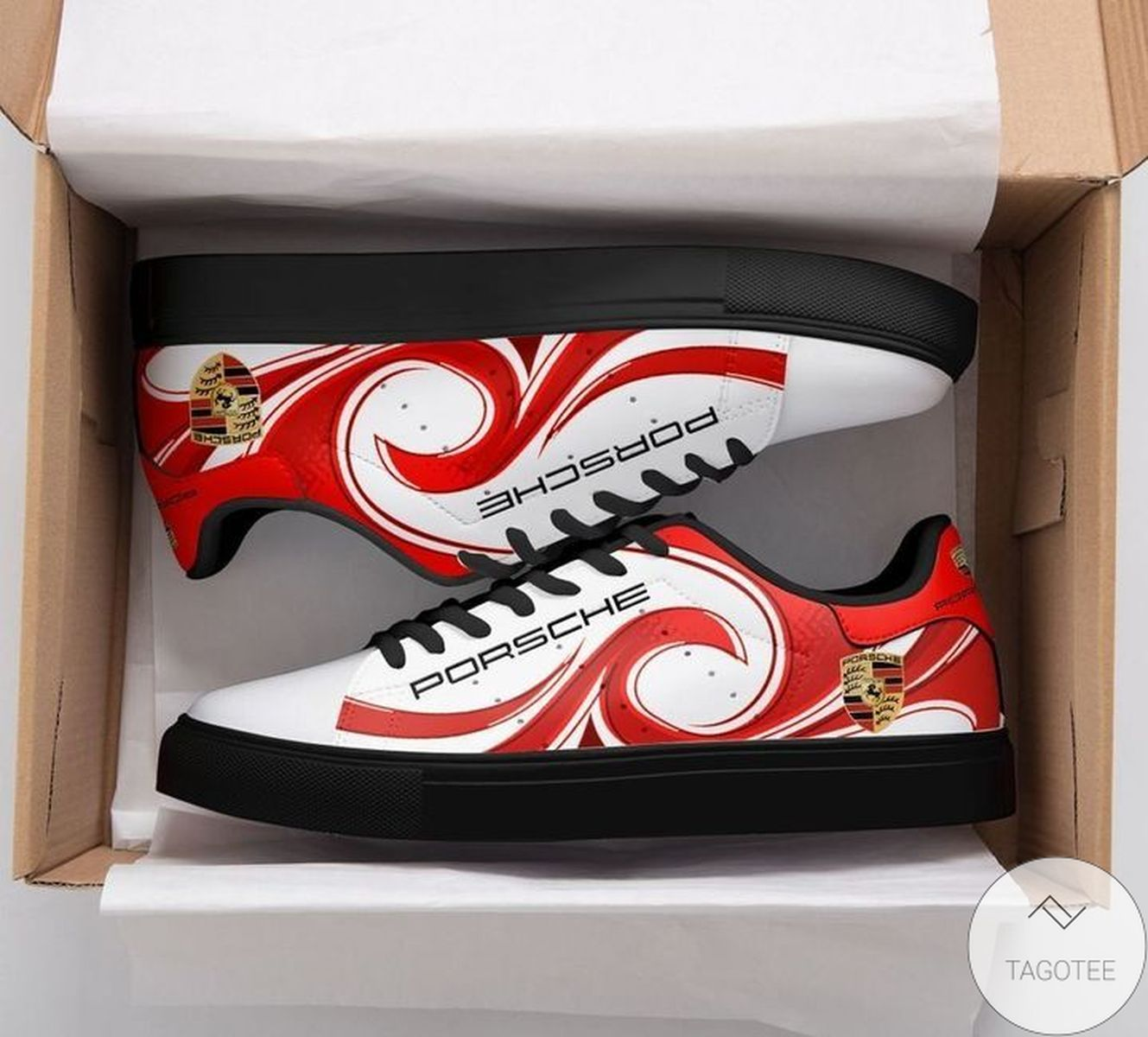 Top Porsche Red Stan Smith Shoes