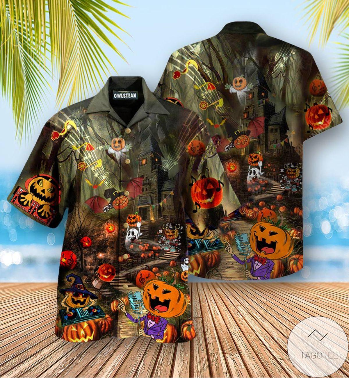 Fantastic Pumpkin Party Halloween Hawaiian Shirt