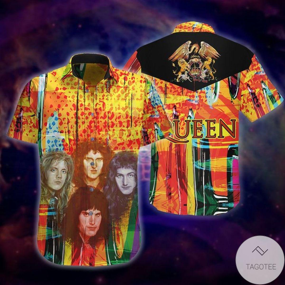 Queen Band Hawaiian Shirt