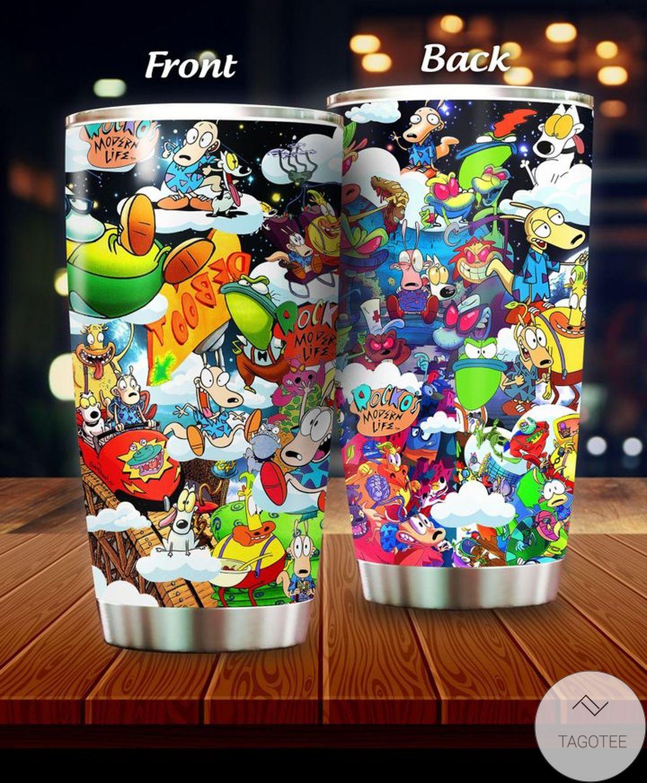 Where To Buy Rocko's Modern Life, Rocko and Friend Cartoon Tumbler