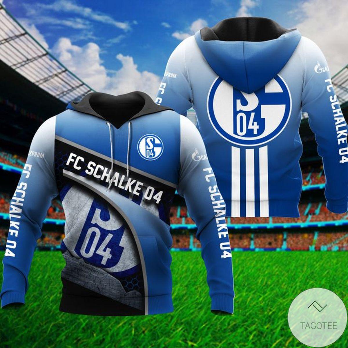 New S04 Fc Schalke 04 Hoodie