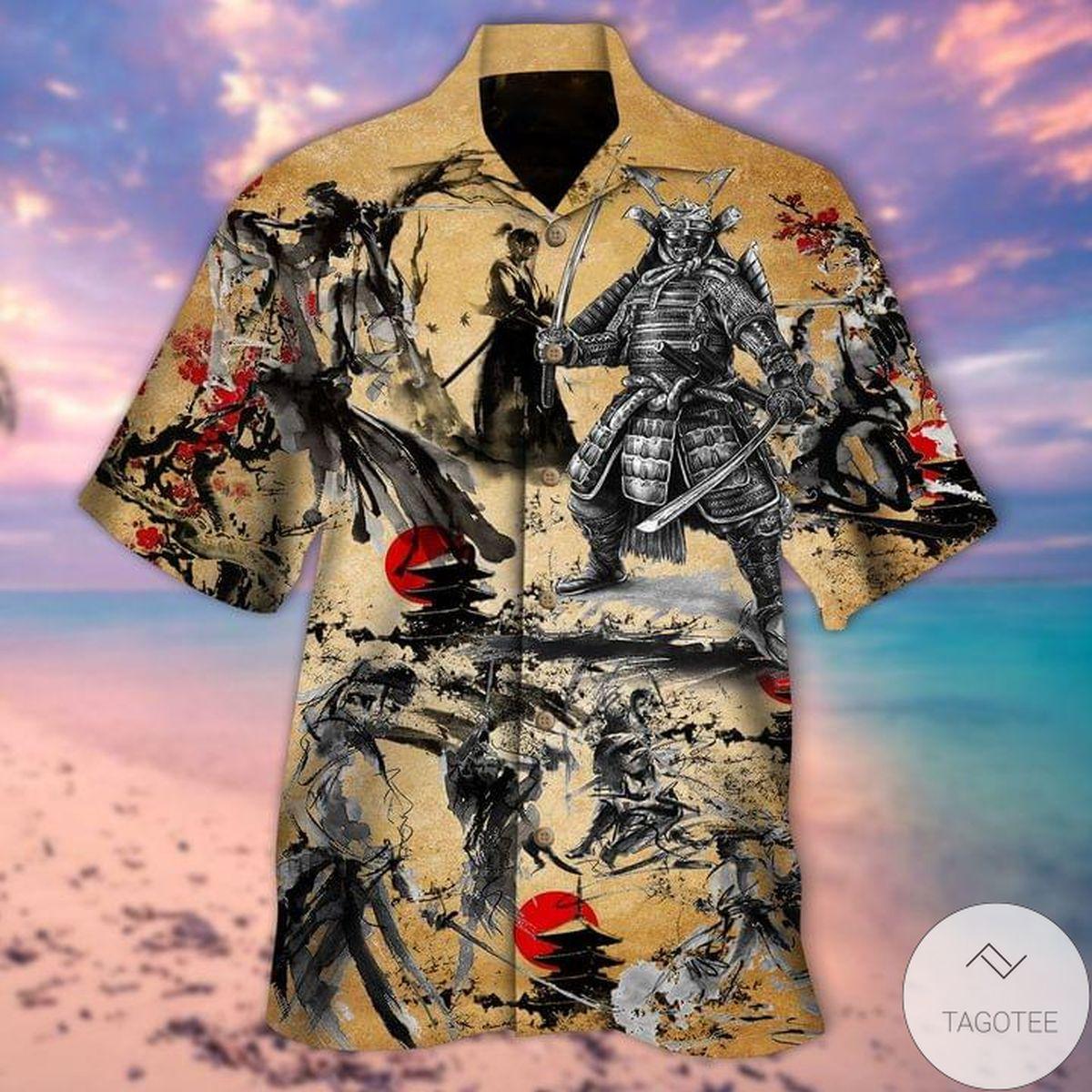 Samurai Hawaiian Shirt