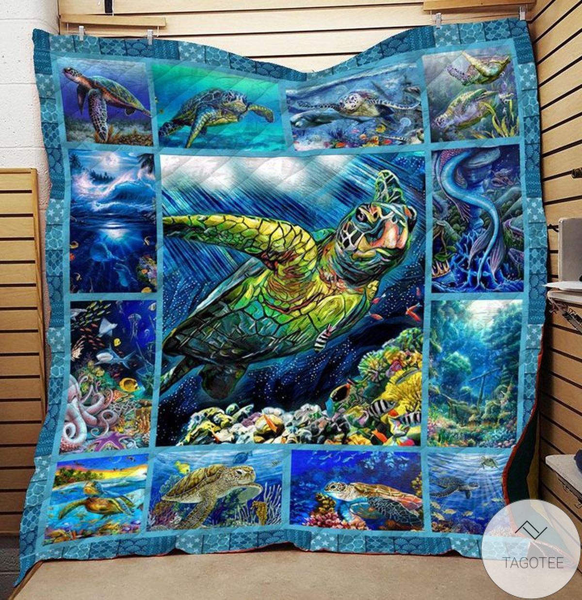 Sea Turtle Quilt z