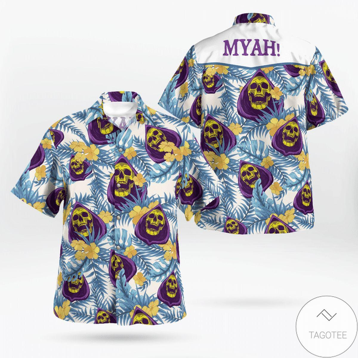 Free Skeletor Myah Hawaiian Shirt