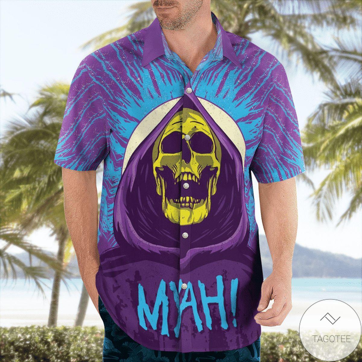 Skeletor Myah Hawaiian Shirt