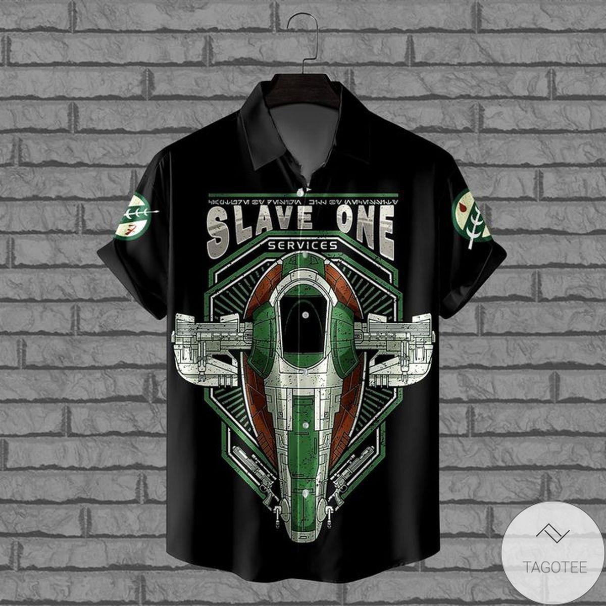 3D Slave One Services Hawaiian Shirt