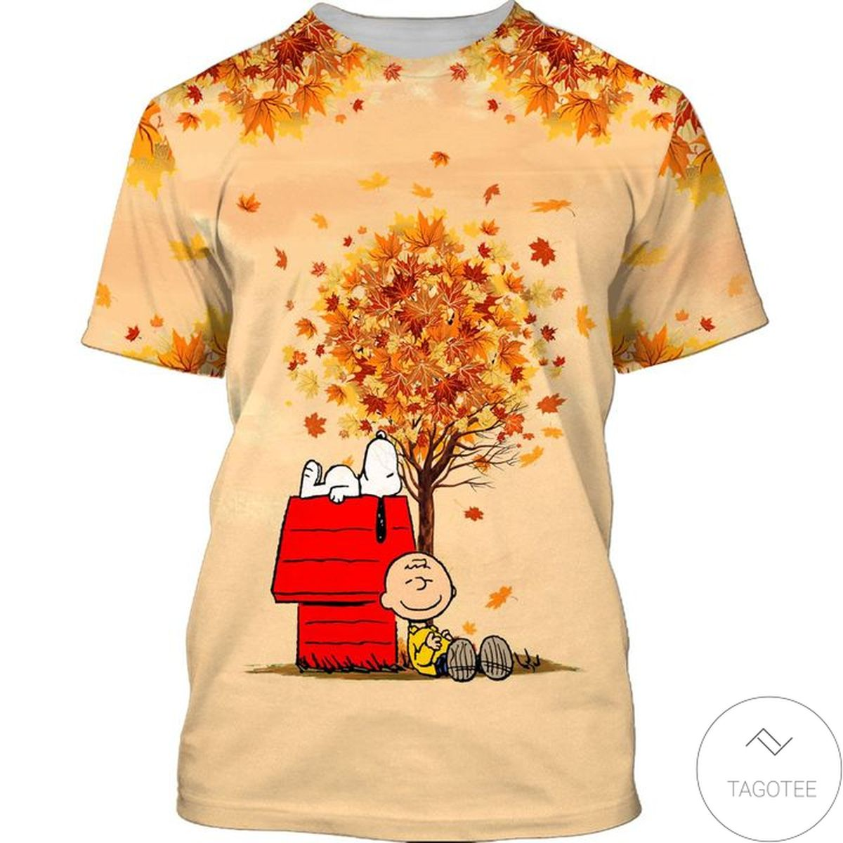 Perfect Snoopy Autumn Time T-Shirt
