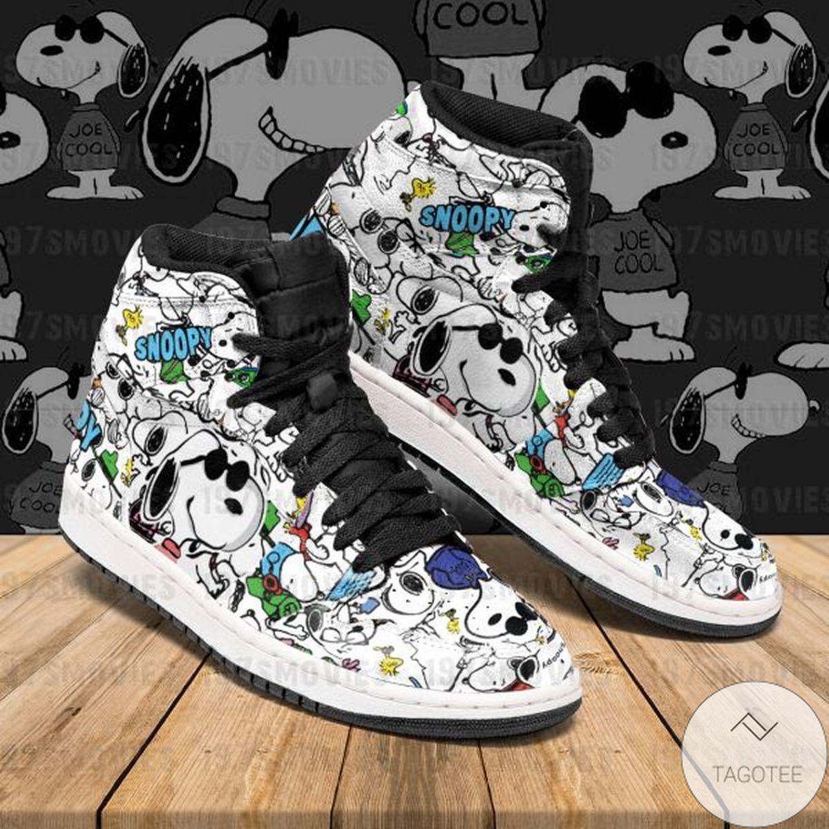 Snoopy Sneaker Air Jordan High Top Shoes