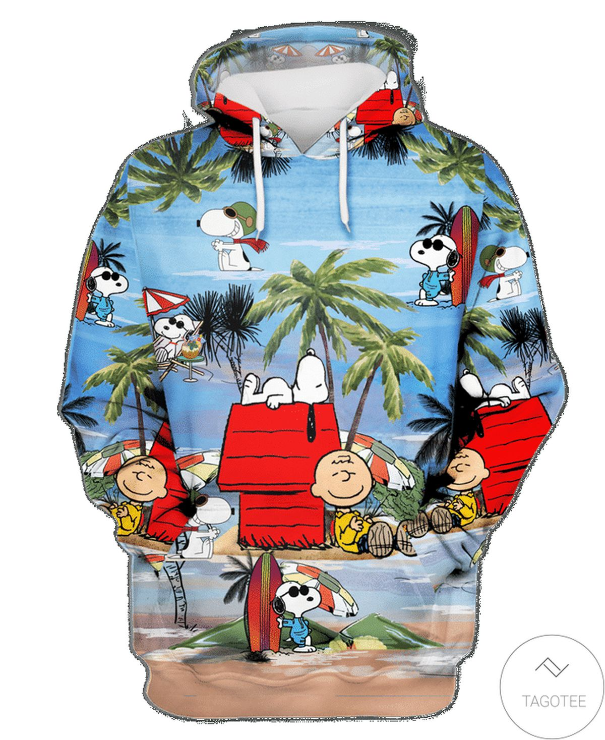 Nice Snoopy Summer Vacation On The Beach Hoodie