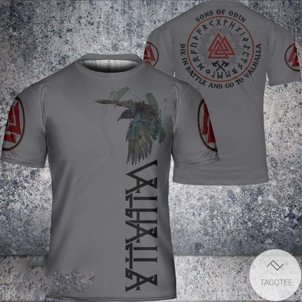 Nice Son Of Odin Die In Battle And Go To Valhalla T-Shirt