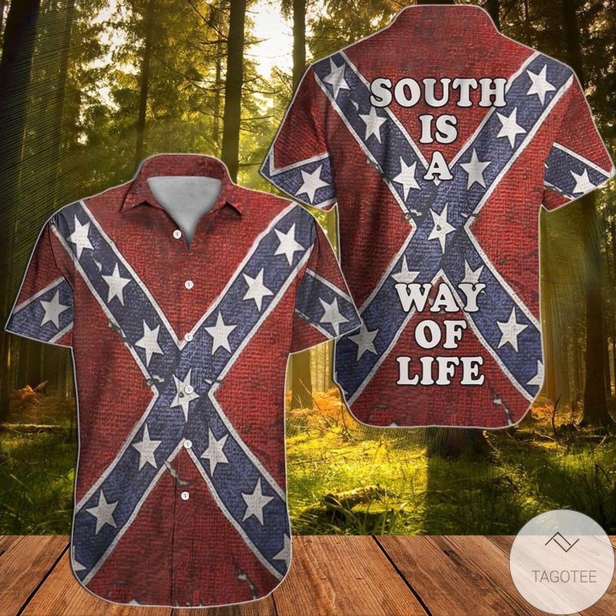 Southern South Is A Way Of Life Hawaiian Shirt