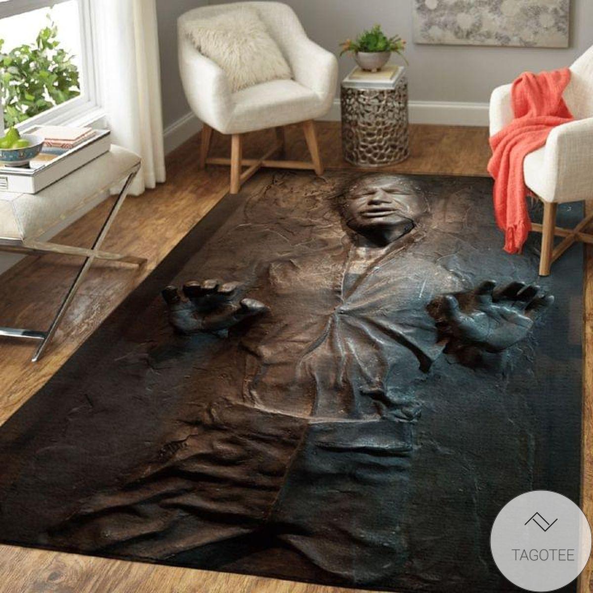 Star Wars Han Solo In Carbonite Rug