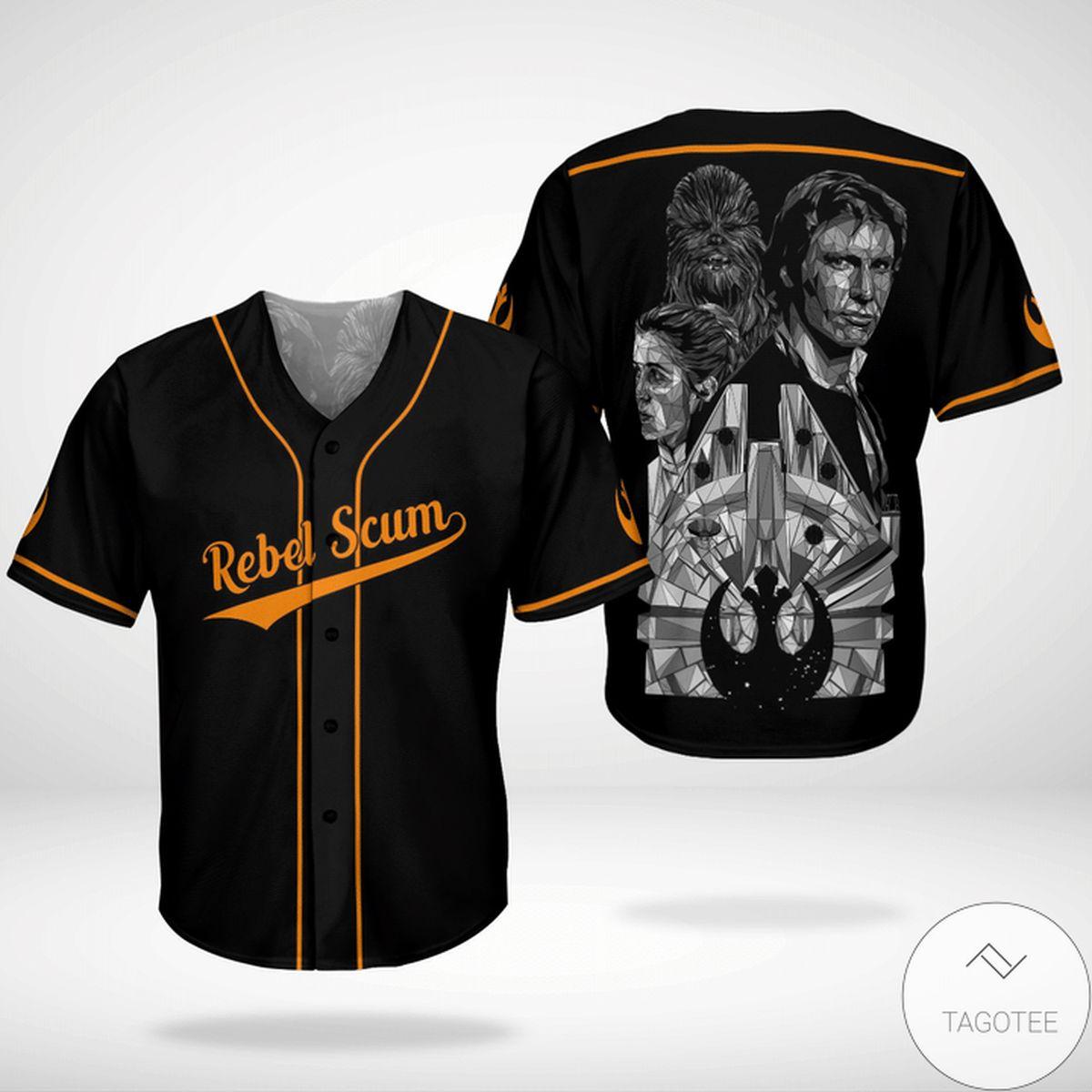 Star Wars Rebel Scum Baseball Jersey