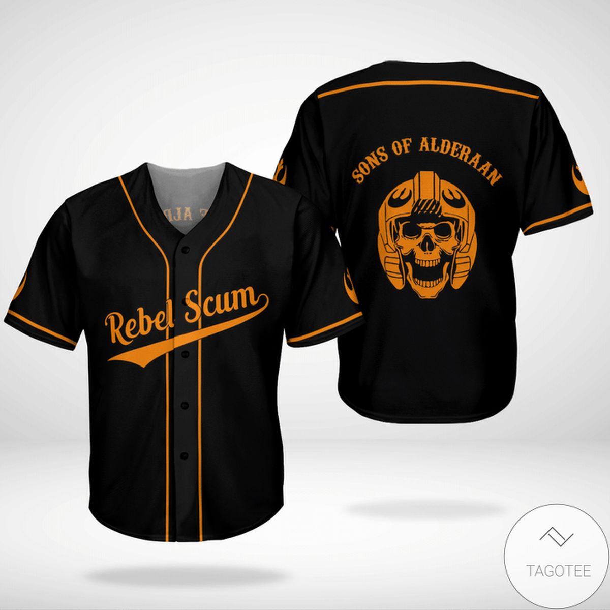 Excellent Star Wars Rebel Scum Son Of Alderaan Baseball Jersey