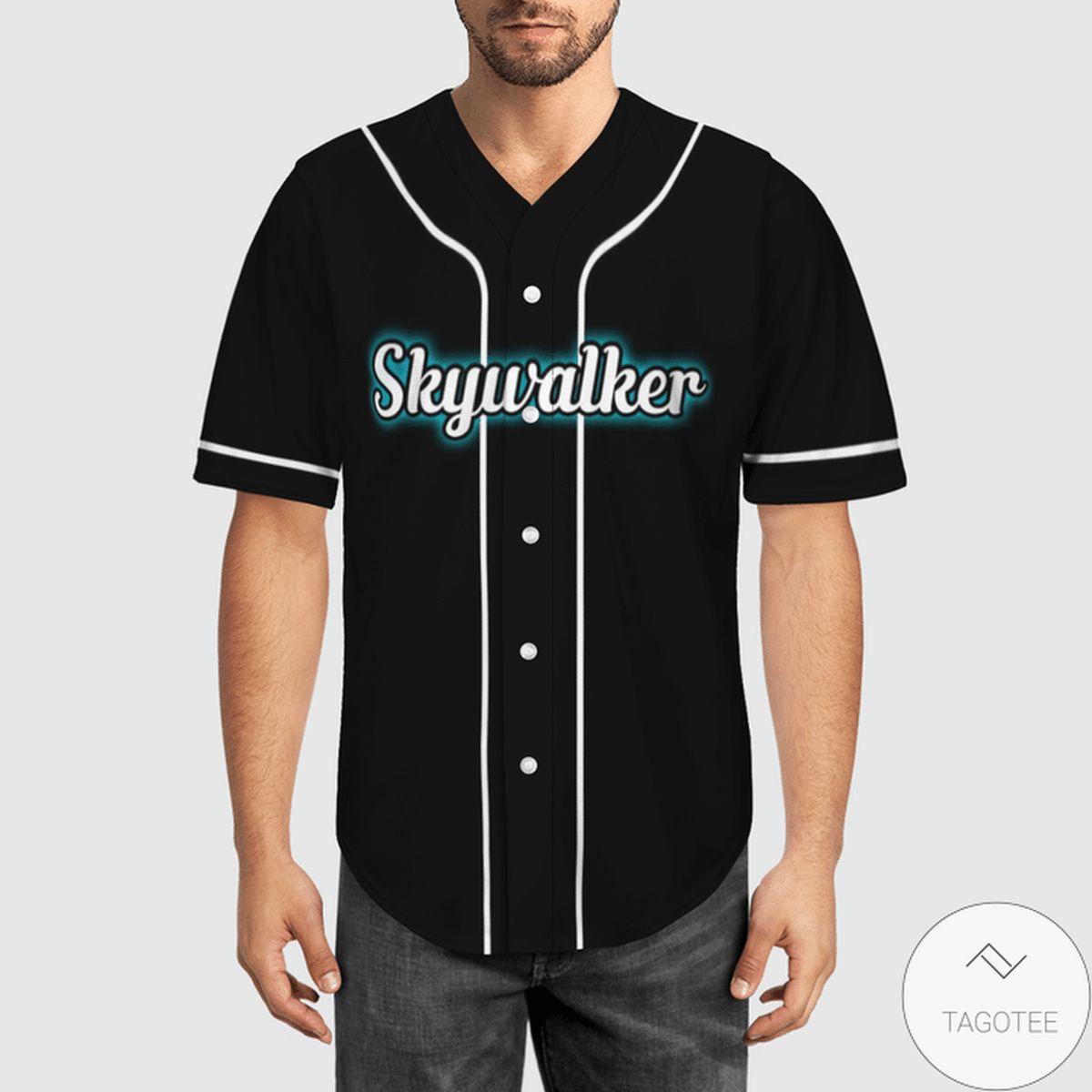 Best Gift Star Wars Skywalker Baseball Jersey