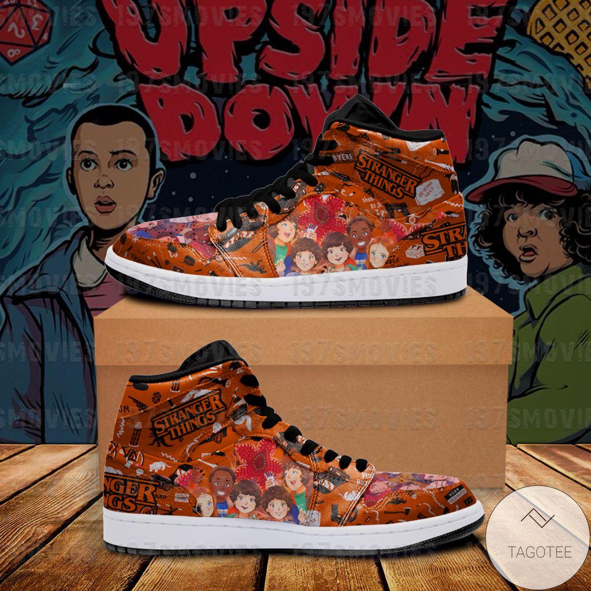 Top Selling Stranger Things Sneaker Air Jordan High Top Shoes