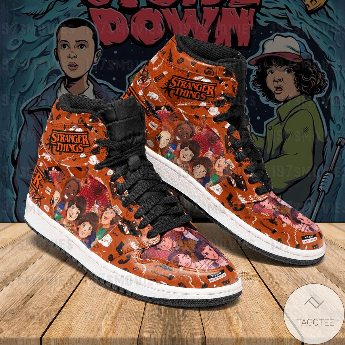 Buy In US Stranger Things Sneaker Air Jordan High Top Shoes