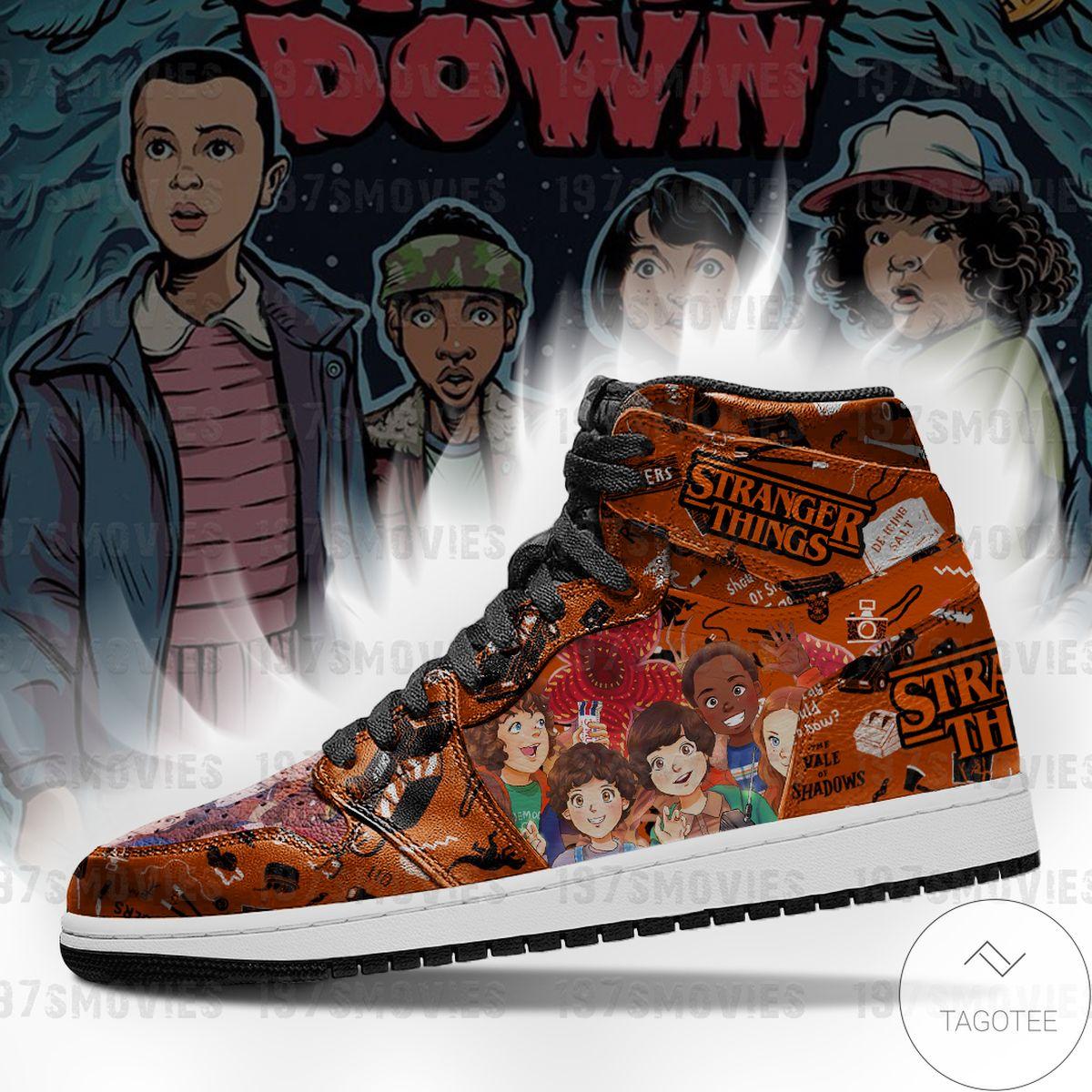Stranger Things Sneaker Air Jordan High Top Shoes
