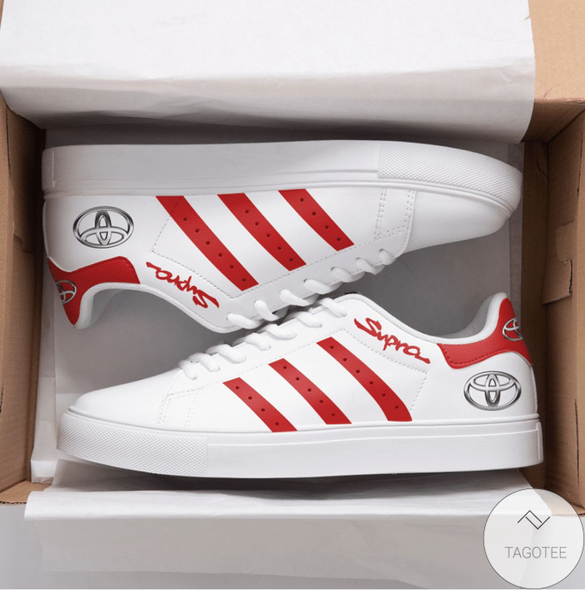 Discount Supra Red Stan Smith Shoes