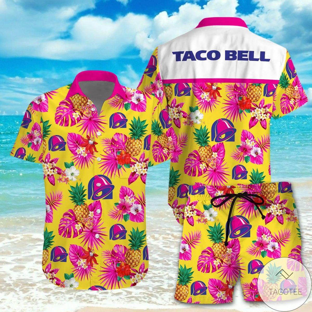 Fast Shipping Taco Bell Hawaiian Shirt