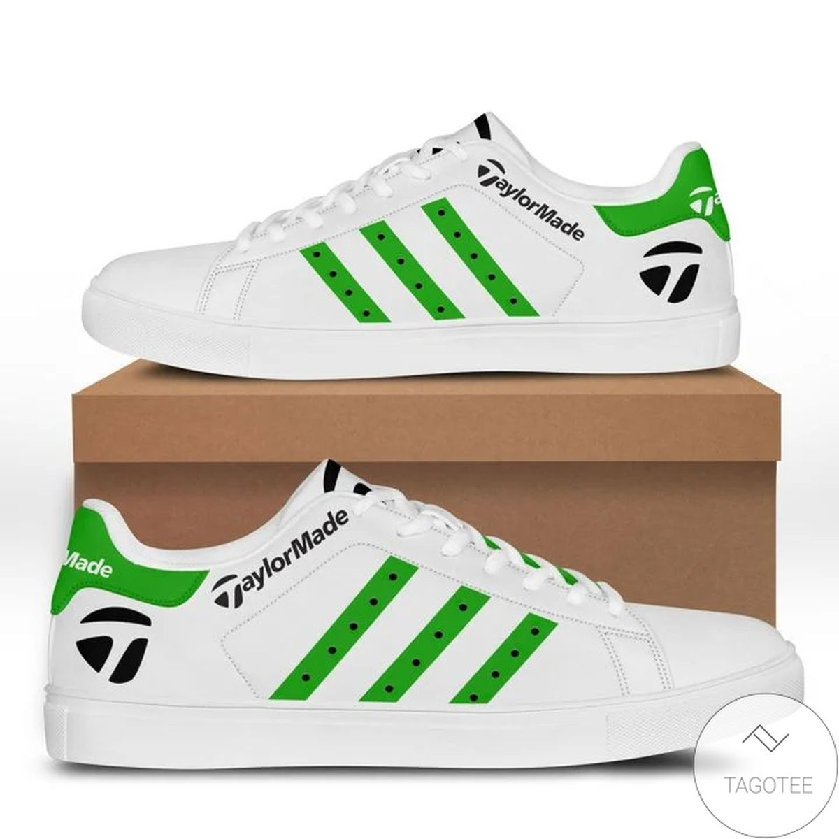 Hot Deal Taylor Made Green Stan Smith Shoes